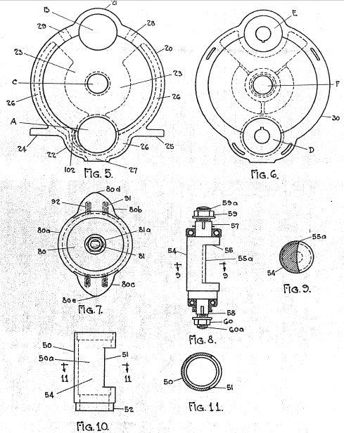 Samuel Baylin Rotating Piston Engine Only 3 Moving Parts